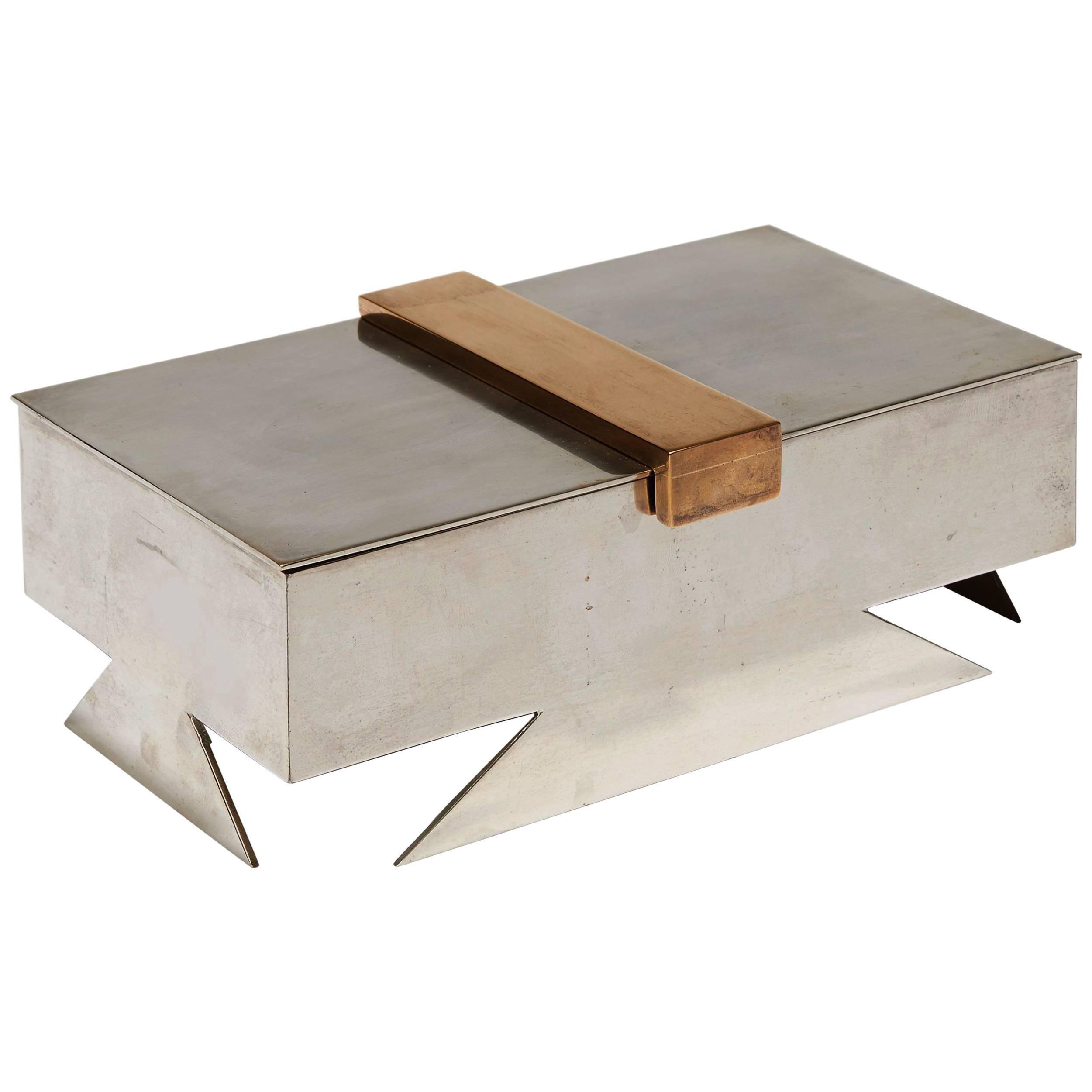 Geometrical box by Maison Desny, circa 1930