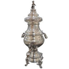 20th Century Silver Kettle, Samovar
