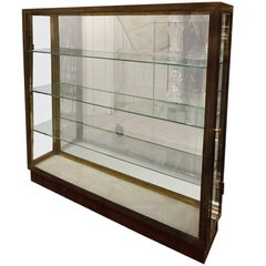 Mid-20th French Brass Display Cabinet