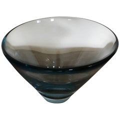 Holmegaard Glass Bowl, Designed by Per Lutken Denmark, 1960s