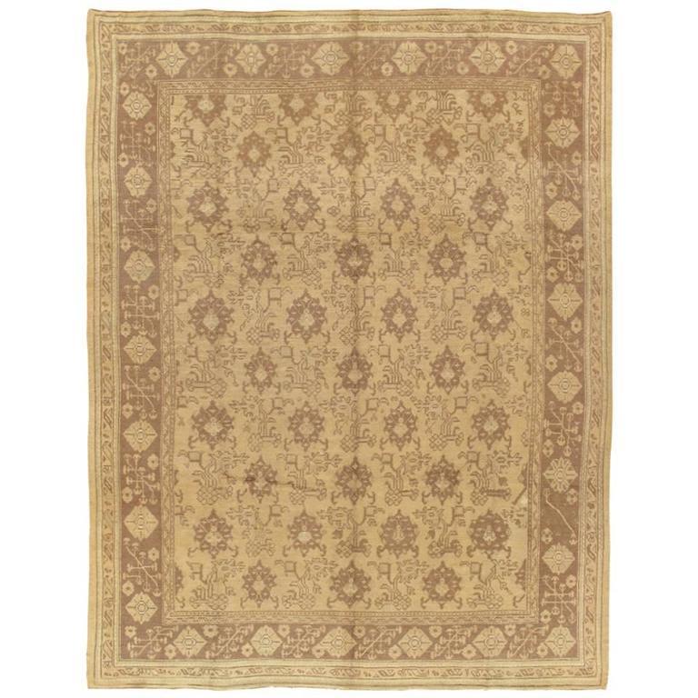 Antique Oushak Carpet At 1stdibs