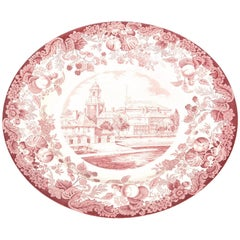 Harvard University Dinner Plate by Wedgwood, England
