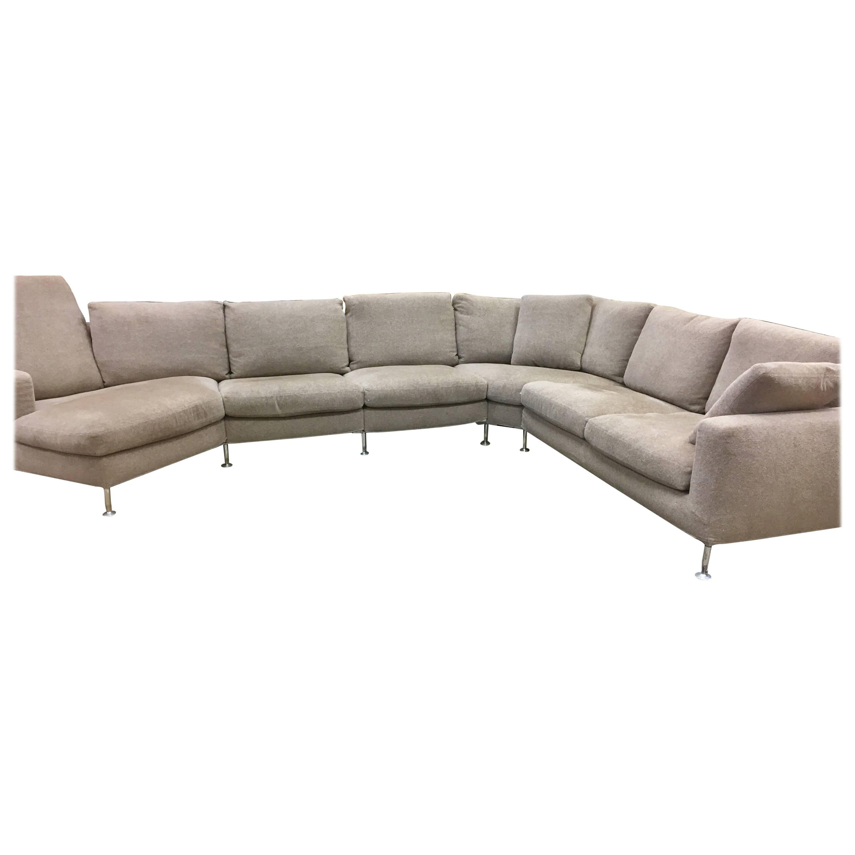 Bu0026B Italia Harry Sectional Sofa by Antonio Citterio  sc 1 st  1stDibs : flexform sectional sofa - Sectionals, Sofas & Couches