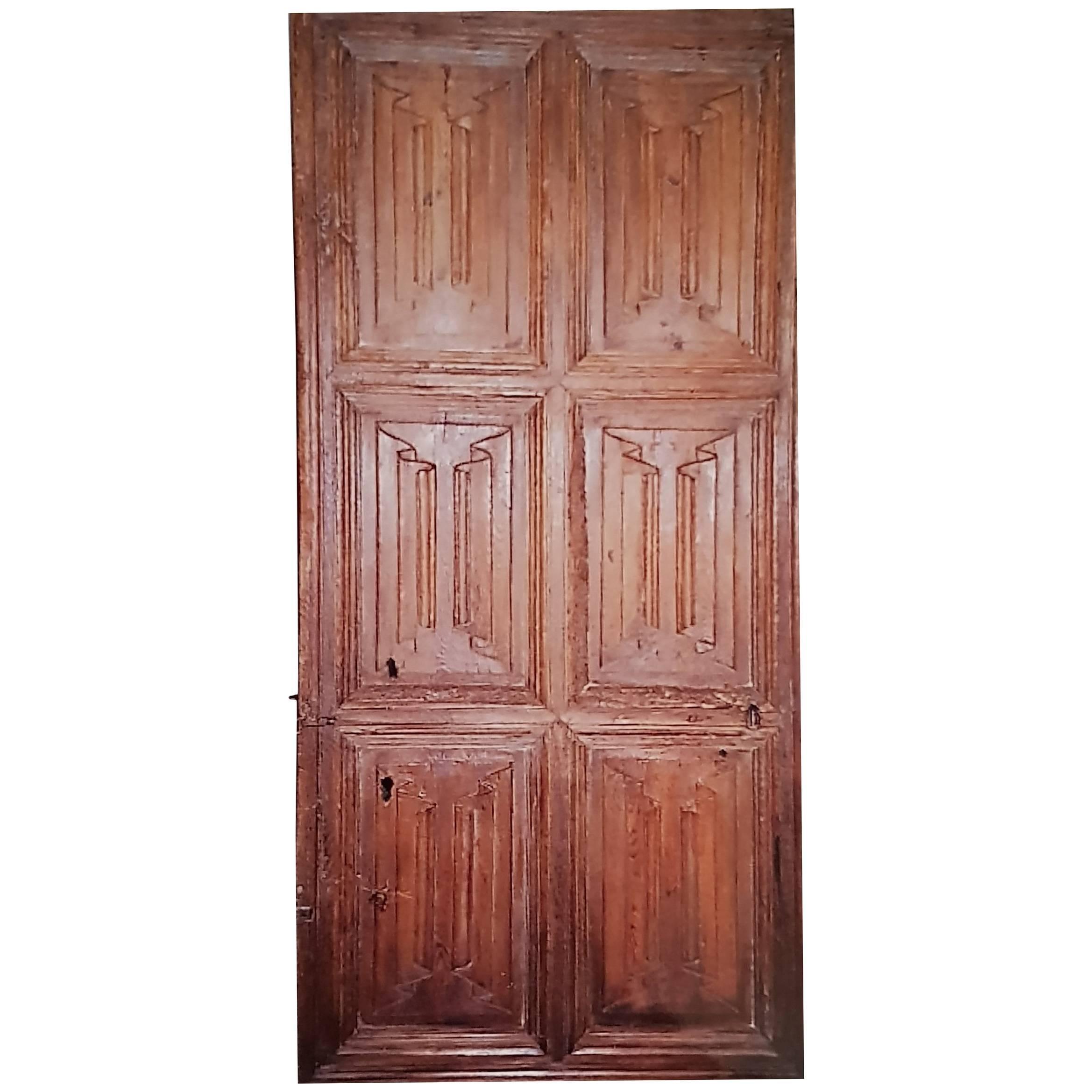 16th Century Spanish Door