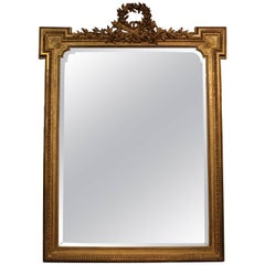 19th Century Giltwood Louis XVI Style Mirror