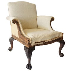 George II Style Armchair by Lenygon & Company
