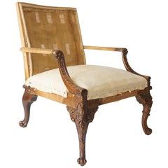 Library Armchair, Manner of Giles Grendey