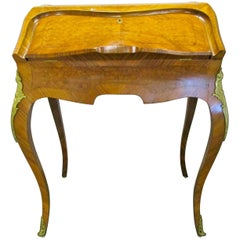 Antique French Ladies Writing Desk Bureau De Dame