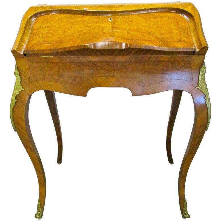 Antique French Ladies Writing Desk Bureau De Dame For Sale - Antique French Ladies Writing Desk Bureau De Dame For Sale At 1stdibs