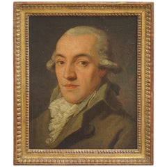 Portrait Painting of a Bewigged Gentleman, Prague, circa 1780
