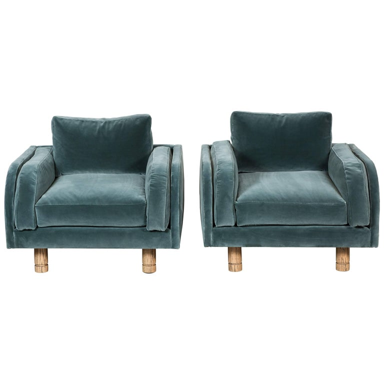 Pair of Moreno Chairs by Lawson-Fenning