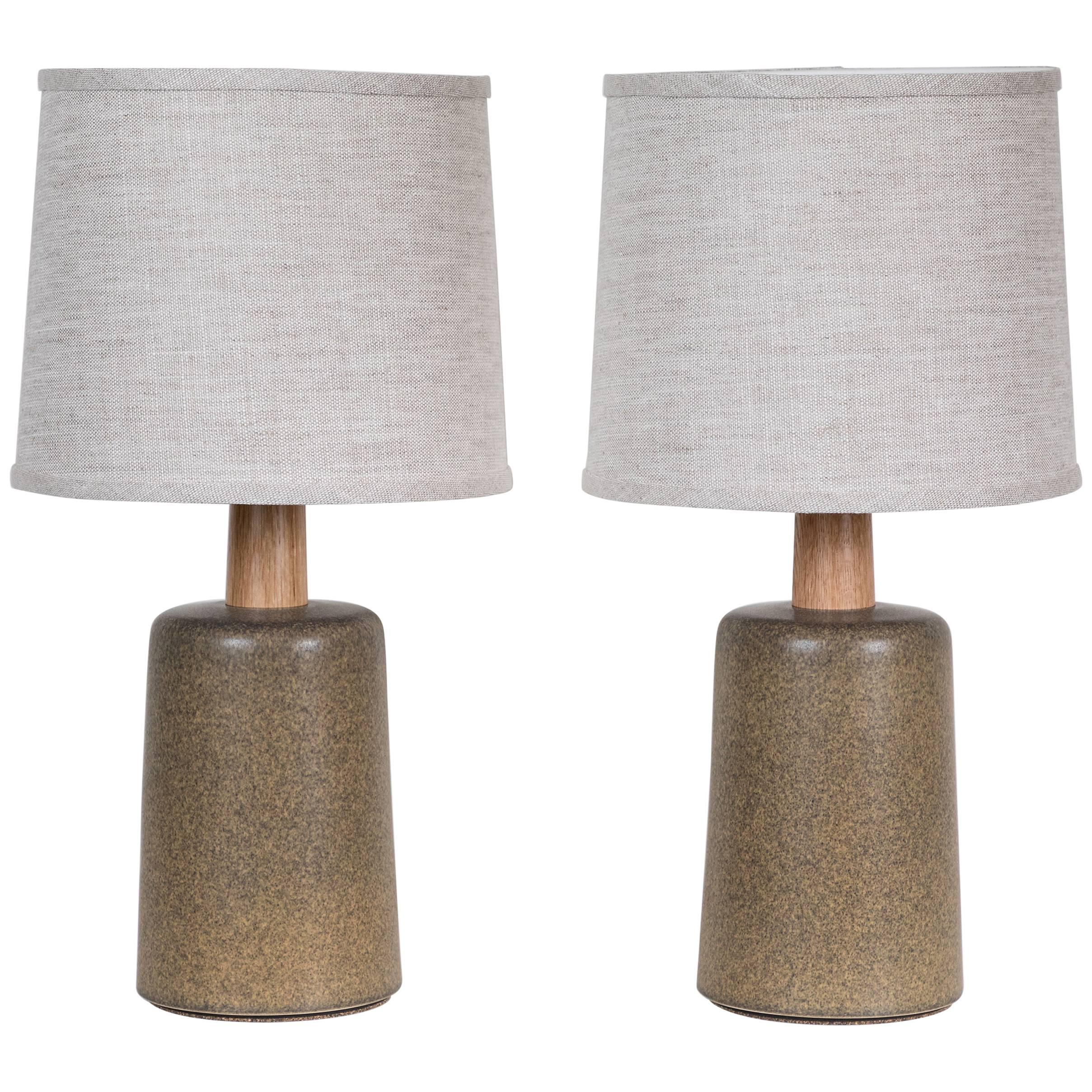 Pair of Griffin Lamps by Stone and Sawyer for Lawson-Fenning