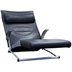 Interprofil Joachim Nees Designer Chair Leather Black Function One Seat Relax