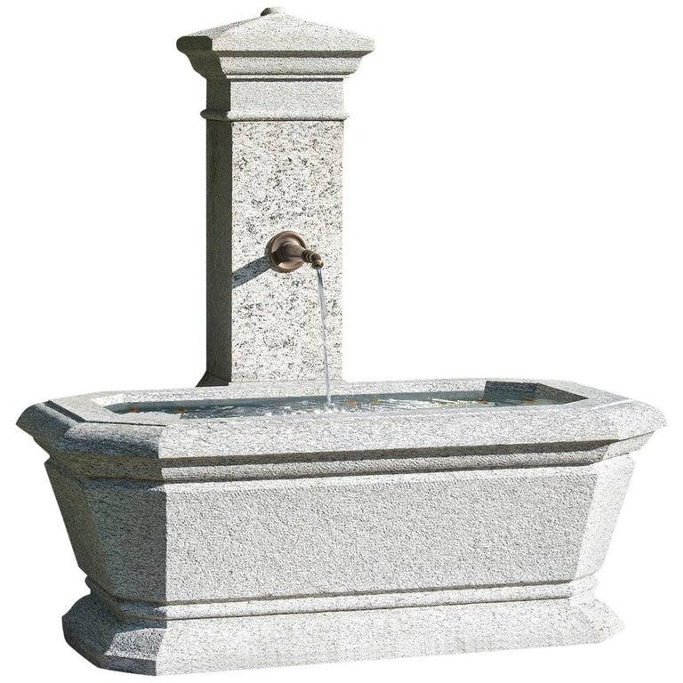 20th Century Swiss Granite Fountain