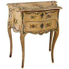 20th Century Lacquered and Painted Side Table