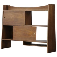 Bookcases in the Style of Pierre Jeanneret Commode