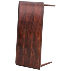 Danish Sofa Table in Rio Rosewood, Scandinavian Design