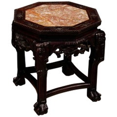 20th Century Chinese Side Table in Wood