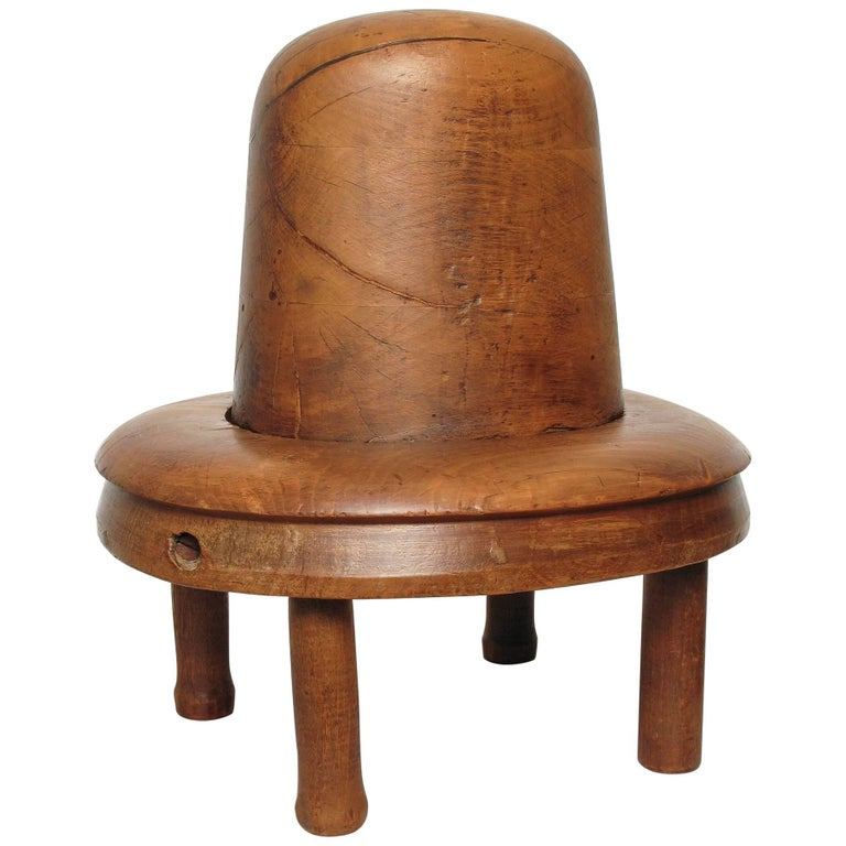 Original Borsalino Wooden Old Hat Pattern