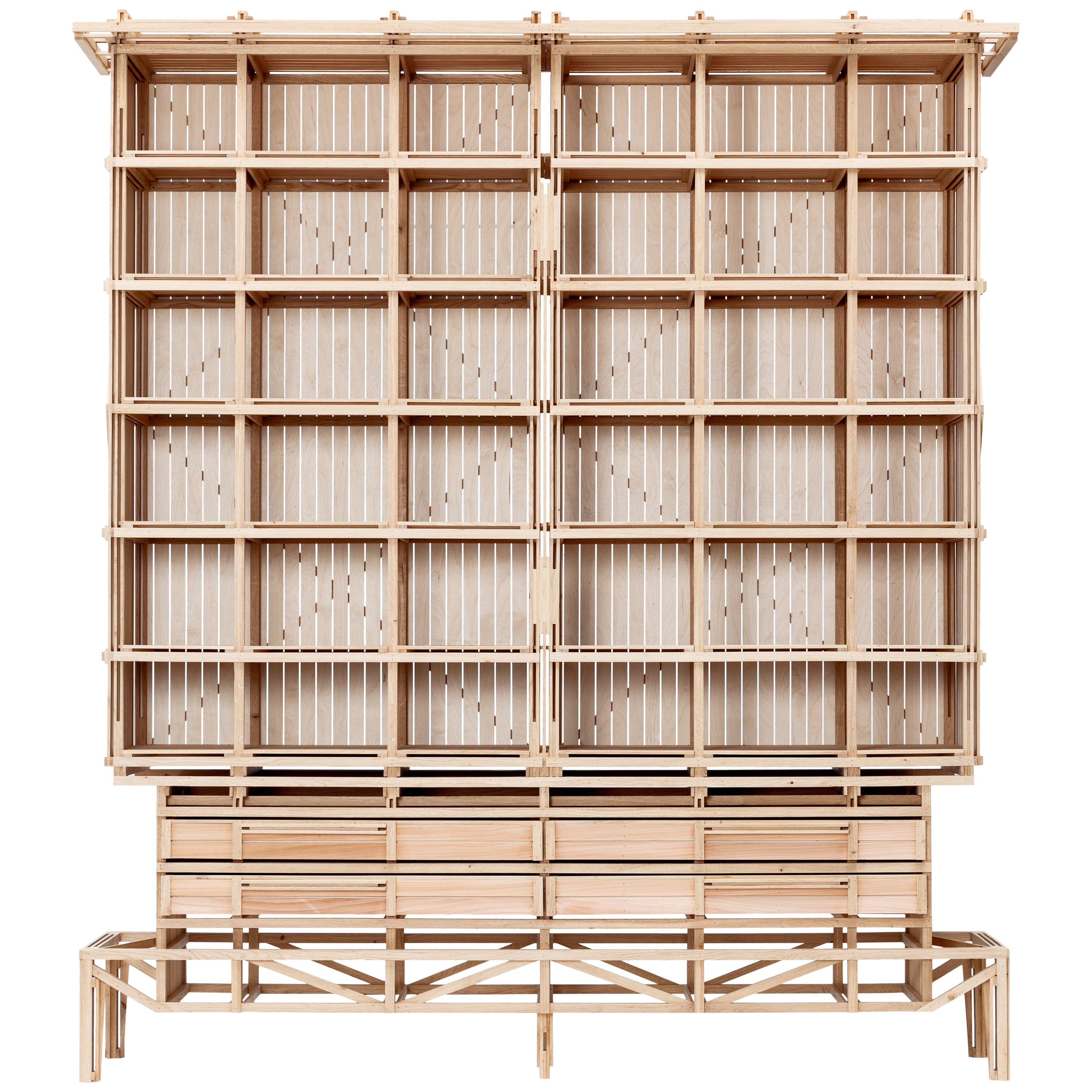 Cathedral Cabinet by Paul Heijnen, Handmade in Netherlands