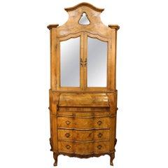 18th Century Venetian Trumeau Cabinet