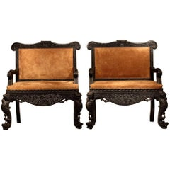 Pair of Anglo Indian Sofas