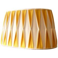 Wall Lamp Shade Handmade Artisan Italy Customizable Yellow White