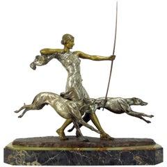 Diane the Huntress by Louis Riche