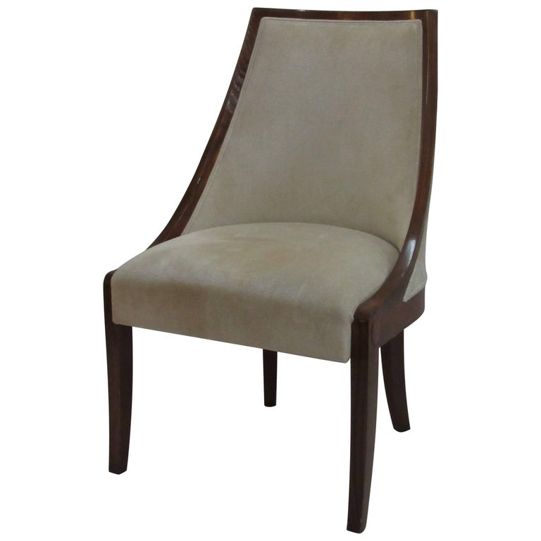 Contemporary Ram's Chair Created by J. Robert Scott Designed by Peter Marino