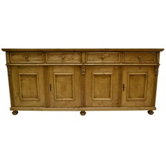 Pine Four-Door Sideboard