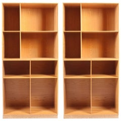 Pair of Bookcases by Mogens Koch