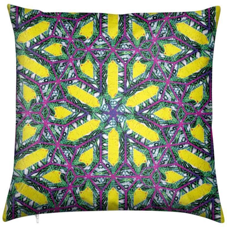 Buzios Print Deco Pillow by Lolita Lorenzo Home Collection