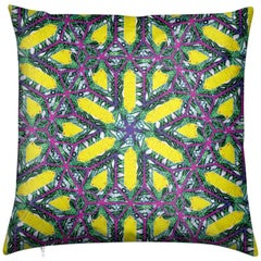 Buzios Print Deco Pillow by Lolita Lorenzo Home Collection