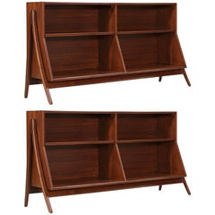 "Pair of Kipp Stewart & Stewart MacDougall ""Declaration"" Bookcases for Drexel"