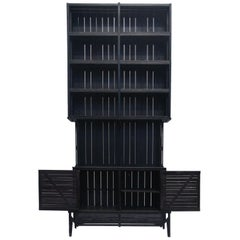 Tall Cnstr Cabinet by Paul Heijnen, Handmade in Netherlands