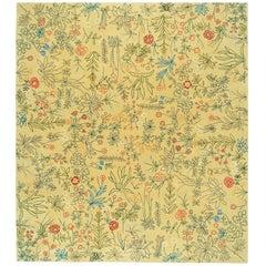 """Yaschilan"" Handmade Tufted 100% Pure Virgin Wool Rug by V. Locatelli, Driade"