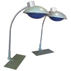 Pair of Louis Ferdinand Solere Table Lamps