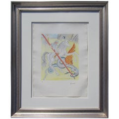 Salvadore Dali Artists Proof Etching