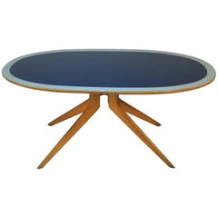 Italian Dining Table by Ico Parisi,  Mid-Century Modern. Italy 1950s