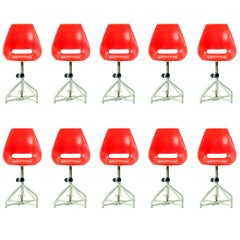 Original Vertex Chairs by Miroslav Navratil, circa 1960