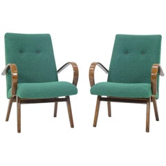 1960 Thon or Thonet Bentwood Lounge Chair