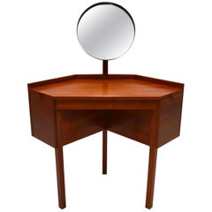 1960s Danish Teak Dressing Table