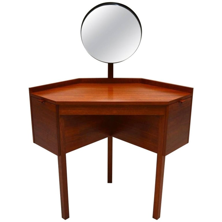 1960s danish teak dressing table at 1stdibs for 90cm dressing table