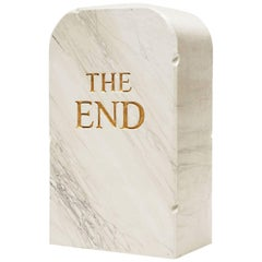 Gufram Limited Edition the End Pouf by Toiletpaper Maurizio Cattelan