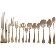 Fairfax by Durgin Gorham Sterling Silver Flatware Set Service 180 Pieces