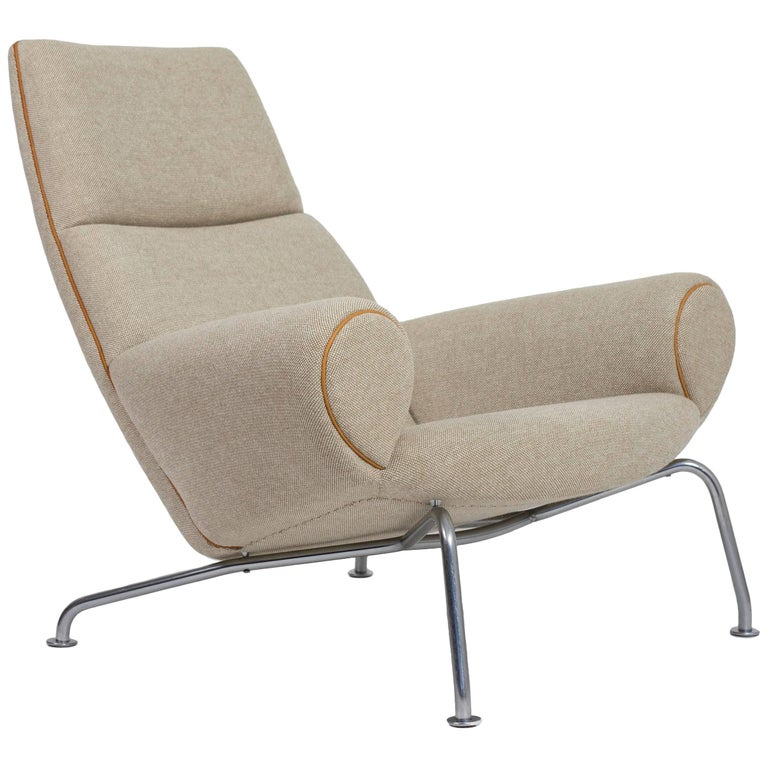 hans j wegner ap47 ox lounge chair 1960 for sale at 1stdibs. Black Bedroom Furniture Sets. Home Design Ideas