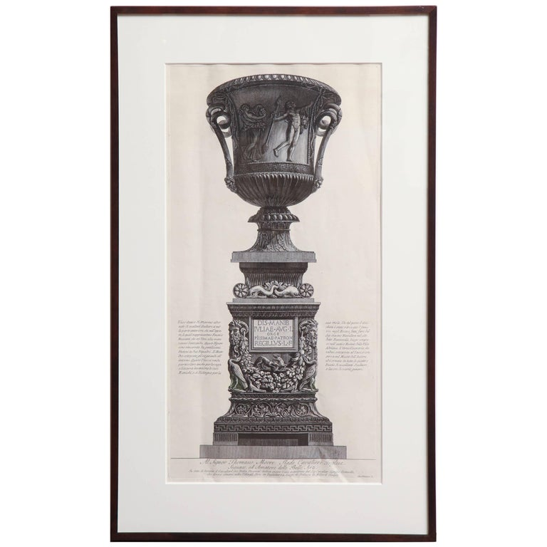 Early 19th Century French Steel Engraving by Piranesi F