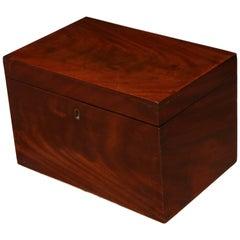 19th Century English, Mahogany Box