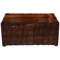 Early 19th Century Anglo-Indian, Coramandel Box with Fitted Interior
