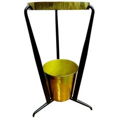 Brass Umbrella Stand from the 1950s